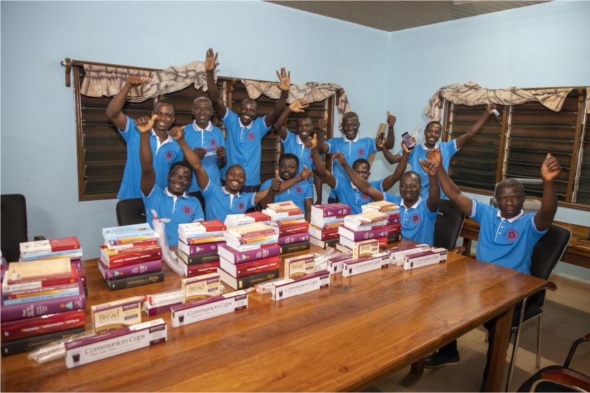 Bibles and volunteers